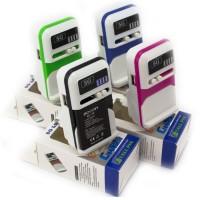 Сетевое зарядное устройство Краб 5G LED USB blue