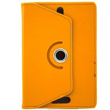 Чехол-книжка 7 дюймов с разворотом, уголки-резинка оранжевый в Одессе