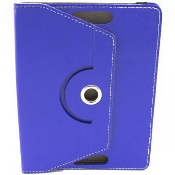 Чехол-книжка 8 дюймов с разворотом уголки-резинка синий в Одессе