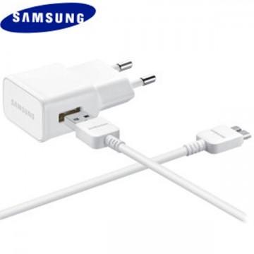 Сетевое зарядное устройство Samsung Galaxy S5 Note3 EP-TA10EWE 5.3V 1USB 2.0A micro-USB 3.0 white в Одессе