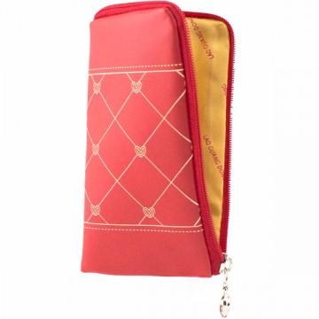 Универсальный чехол-сумка 4″ S LGD ромбик-сердечко красный в Одессе