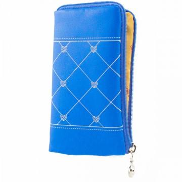 Универсальный чехол-сумка 4″ S LGD ромбик-сердечко голубой в Одессе