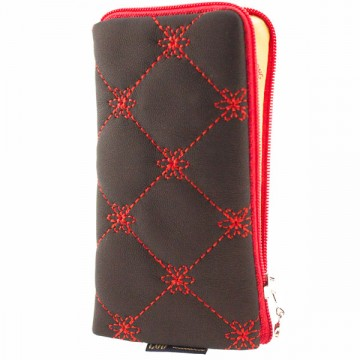 Универсальный чехол-сумка 4″ S LGD клеткка черно-красный в Одессе