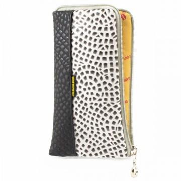 Универсальный чехол-сумка 4″ S LGD Glamour черный-белый в Одессе