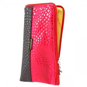 Универсальный чехол-сумка 4″ S LGD Glamour черный-красный в Одессе