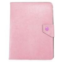 Чехол-книжка 8 дюймов уголки-магнит NEW светло-розовый