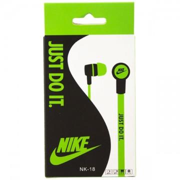Наушники Nike NK-18 Just do it зеленые в Одессе