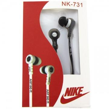 Наушники NK-731 Nike Just do it черные в Одессе