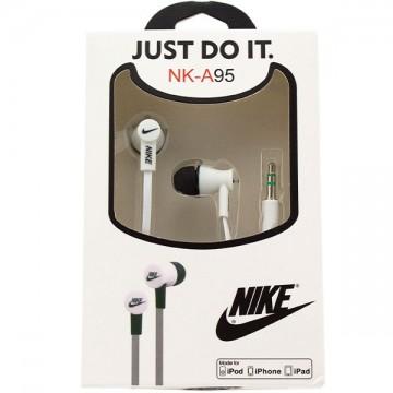 Наушники NK-A95 Nike Just do it белые в Одессе