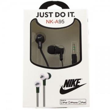 Наушники NK-A95 Nike Just do it черные в Одессе