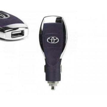 Автомобильное зарядное устройство Toyota 5in1 1USB 1.0A black в Одессе