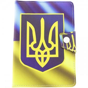 Чехол-книжка 7 дюймов уголки-магнит герб Украины в Одессе