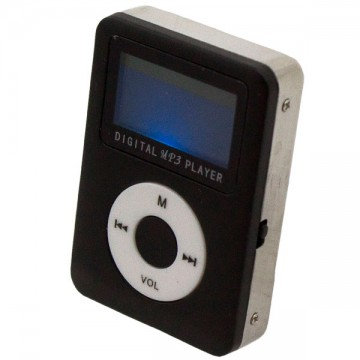 MP3 плеер 019 с динамиком и дисплеем Черный в Одессе