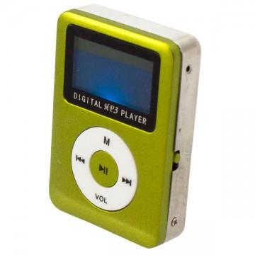 MP3 плеер 019 с динамиком и дисплеем Салатовый в Одессе