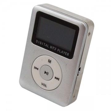 MP3 плеер 019 с динамиком и дисплеем Серебристый в Одессе