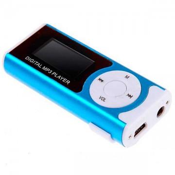 MP3 плеер с дисплеем и фонариком 339 FM Синий в Одессе