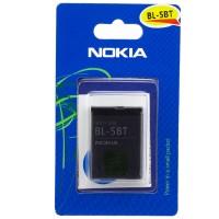 Аккумулятор Nokia BL-5BT 870 mAh 2600, 7510, N75 AA/High Copy блистер