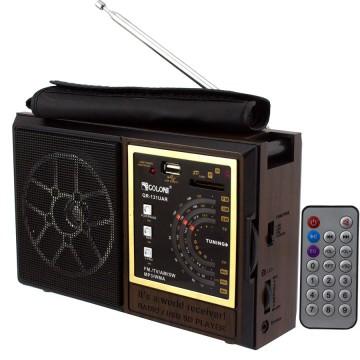 Радиоприемник GOLON QR-131UAR коричневый в Одессе