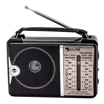 Радиоприемник GOLON RX-606AC черный в Одессе