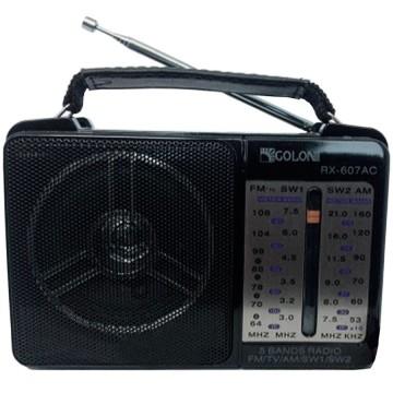 Радиоприемник GOLON RX-607AC черный в Одессе