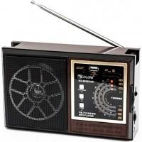 Радиоприемник GOLON RX-9922UAR черно-коричневый