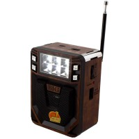 Радиоприемник GOLON RX-8200T Коричнево-черный