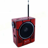 Радиоприемник GOLON RX-188MIC красно-черный