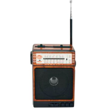 Радиоприемник GOLON RX-077 черно-коричневый  в Одессе