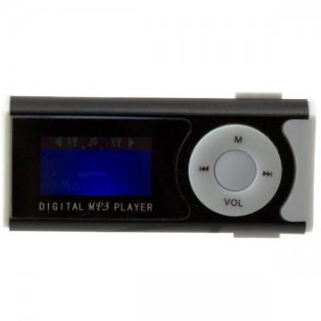 MP3 плеер с дисплеем и фонариком 339 FM Черный в Одессе