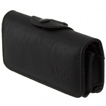 Универсальный чехол на пояс для Nokia 105 MKA черный в Одессе