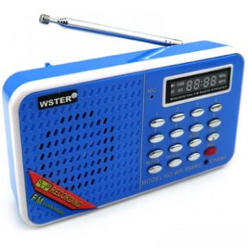 Радиоприемник WSTER WS-958RC в Одессе