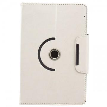Чехол-книжка 9 дюймов с разворотом уголки-магнит белый в Одессе