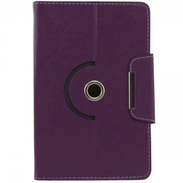 Чехол-книжка 9 дюймов с разворотом уголки-магнит фиолетовый в Одессе