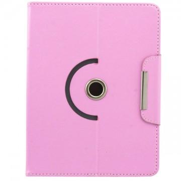 Чехол-книжка 8 дюймов с разворотом уголки-магнит светло-розовый в Одессе