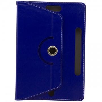 Чехол-книжка 10 дюймов с разворотом уголки-магнит синий в Одессе
