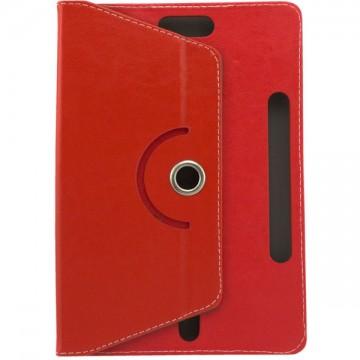Чехол-книжка 10 дюймов с разворотом уголки-магнит красный в Одессе