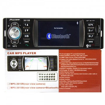 Магнитола с дисплеем 3.6″ Pioneer 3615B USB SD в Одессе