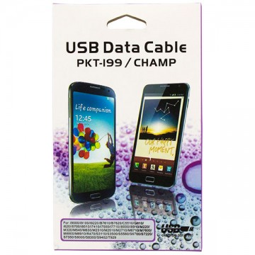 USB - Micro USB шнур Samsung PKT-199 1m черный в Одессе